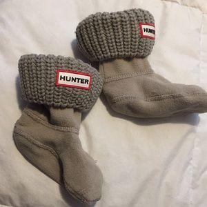 Hunter Accessories - Hunter size xsmall socks leg warmers gray knitted